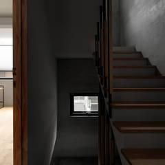木耳生活藝術-建築作品/竹東・住宅:  樓梯 by 木耳生活藝術
