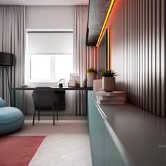Dormitorios de niños de estilo  por Дизайн бюро Аминовой Кристины.
