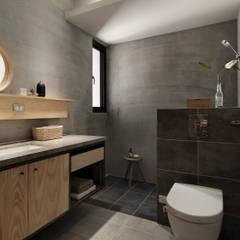 Baños de estilo minimalista de 木耳生活藝術 Minimalista