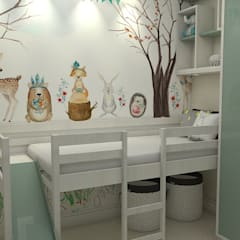 Baby room by Apis arquitetura e interiores,