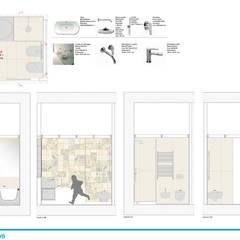 Dormitorios de niños de estilo  por Chantal Forzatti architetto,