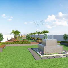 Garden Pond by Future Design Studio, Modern
