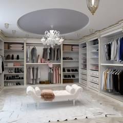 Classic style dressing rooms by Цунёв_Дизайн. Студия интерьерных решений. Classic