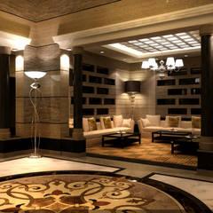 مشروع  فيلا سكنية الرياض  (السعودية):  أرضيات تنفيذ smarthome, حداثي