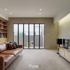 اتاق نشیمن توسط六相設計 Phase6, اکلکتیک (ادغامی)