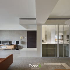 راهرو به سبک عجیب و غریب، راهرو و پله ها توسط 六相設計 Phase6 اکلکتیک (ادغامی)