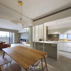 آشپزخانه توسط六相設計 Phase6, اکلکتیک (ادغامی)