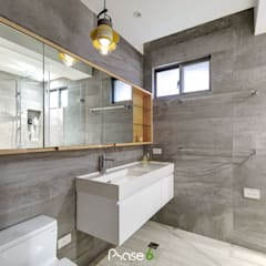 Bathroom by 六相設計 Phase6,