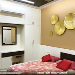 Small bedroom by PSA Architecture, Asian Plywood