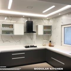 Kitchen units by PSA Architecture,
