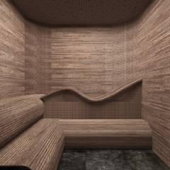 Sauna by SK Interiors studio, Minimalist