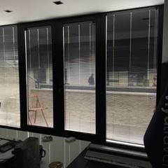 Melih Alüminyum Pvc Doğrama Yapı Sistemleri – VT Window design:  tarz Ofis Alanları,