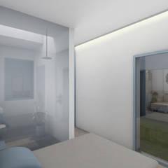 Dormitorios pequeños de estilo  por MOSA Arquitectos