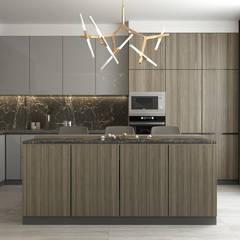 Kitchen units by Higharchitects
