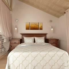 KALYA İÇ MİMARLIK – Antalya'da bir Konut Projesi:  tarz Yatak Odası,