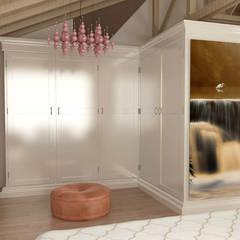 Dressing room by KALYA İÇ MİMARLIK,