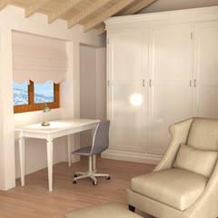 KALYA İÇ MİMARLIK – Antalya'da bir Konut Projesi:  tarz Çalışma Odası,