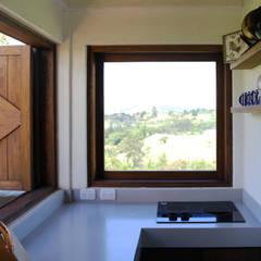 Casa AV, Etapa 1: Cocinas de estilo  por Gamma, Rústico