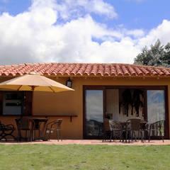 Casa AV, Etapa 1: Casas de estilo  por Gamma, Rústico