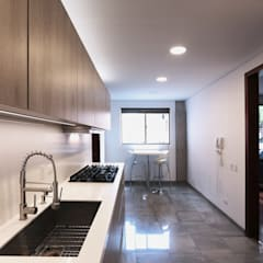 Built-in kitchens by Gamma,