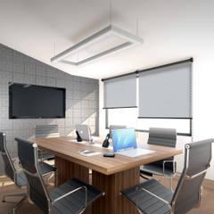 Gen Products Company: Oficinas y Tiendas de estilo  por Gamma,