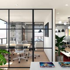 Headquartes Gamma: Oficinas y Tiendas de estilo  por Gamma,
