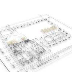 منزل ريفي تنفيذ Roca Arquitectura & Construccion,