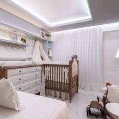Cuartos para bebés de estilo  por Coletânea Arquitetos, Clásico