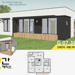 공간제작소 설계사례 #7: 공간제작소(주)의  목조 주택,모던