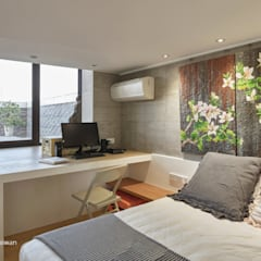 Small bedroom by SECONDstudio, Modern