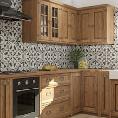 Cocinas equipadas de estilo  por Meblo-Wosk,
