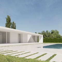 Single family home by SP_A, Minimalist