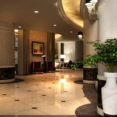 New Cairo Palace Project:  الممر والمدخل تنفيذ smarthome,