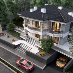 VERO CONCEPT MİMARLIK – Aksaray Villa:  tarz Villa, Modern