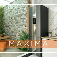 Rock Garden by Maxima Studio Medan Interior Design & Arsitek, Tropical Granite