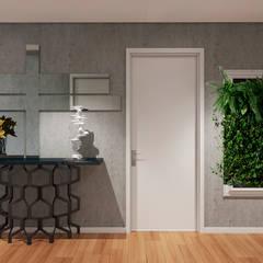 Pasillos, vestíbulos y escaleras industriales de Donna - Exclusividade e Design Industrial