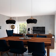 Dining room by Donna - Exclusividade e Design, Industrial