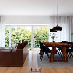 Apartamento Lisboa Salas de jantar industriais por Donna - Exclusividade e Design Industrial