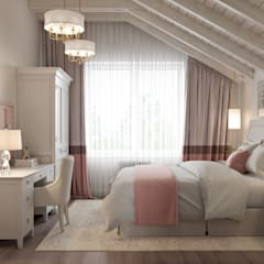 Bedroom by Студия интерьеров Зориной Елены,