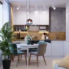 اتاق غذاخوری توسطGoroh бюро, مدرن