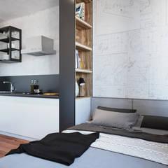 Bedroom by Goroh бюро,