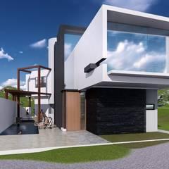 Casa de Playa Antonia: Casas de estilo  por Arq. Bruno Agüero, Moderno