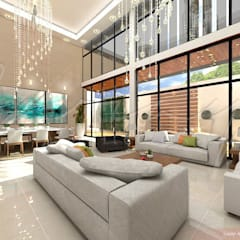 Ruang Keluarga Modern Oleh GARAY ARQUITECTOS Modern