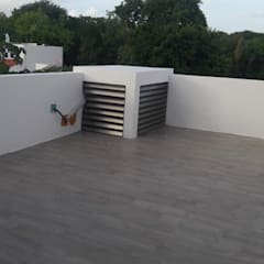 Flat roof by RL Arquitecto, Modern