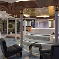 هواپیما و قایق های شخصی توسطMinimalismo Design, مدرن سنگ مرمر
