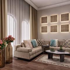 Minimalismo Design – Libya Villa-2:  tarz Yatak Odası,