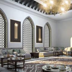 Minimalismo Design – Libya Villa-2:  tarz Oturma Odası,