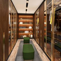 Minimalismo Design – Libya Villa -3:  tarz Giyinme Odası,