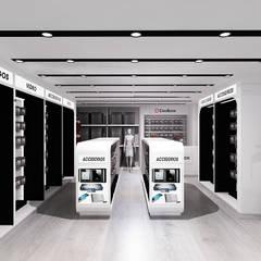 "Concept Store ""Coolbox"" - Aeropuerto Jorge Chavéz. de Jorge Levano Moderno"