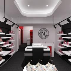 """Concept Store de """"Nicole Lee"""" ☑. Local san Isidro, Lima.: Oficinas y Tiendas de estilo  por Jorge Levano,"""